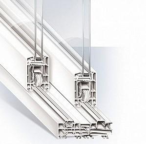 baie vitr e coulissante pvc gamme super confort 2 vantaux sur 2 rails energy fen tres. Black Bedroom Furniture Sets. Home Design Ideas